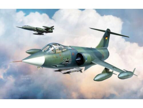KINETIC F-104G Germany Air Force and Marine 1:48 (48083)