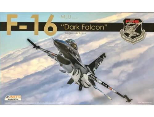 KINETIC F-16 Dark Falcon Belgian Air Force Limited Edition 1:48 (B48002)