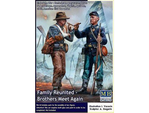 Master Box Family Reunited-Brothers Meet Again - Civil War 1:35 (35198)