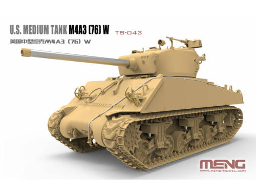 MENG U.S.Medium Tank M4A3 (76)W 1:35 (TS-043)