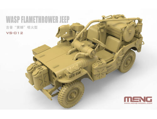 MENG WASP Flamethrower Jeep 1:35 (VS-012)