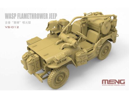 MENG WASP Flamethrower Jeep 1:35 (VS-012)