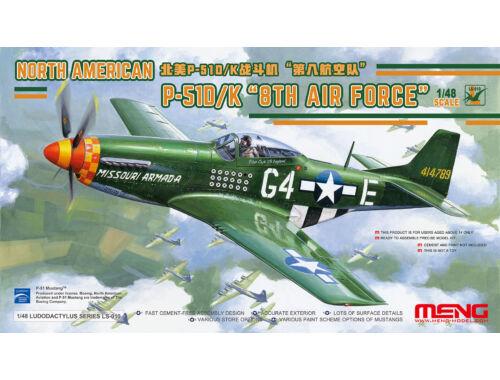 MENG North American P-51D/K 8th Air Force 1:48 (LS-010)