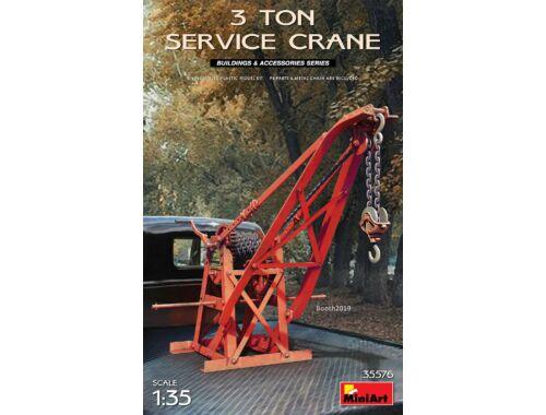 MiniArt 3 Ton Service Crane 1:35 (35576)