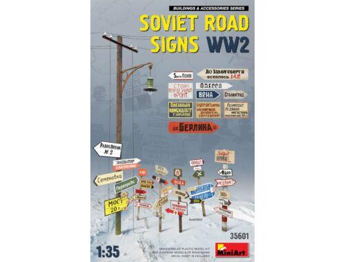 MiniArt Soviet Road Signs WW2 1:35 (35601)