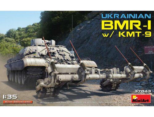 MiniArt Ukrainian BMR-1 w/KMT-9 1:35 (37043)