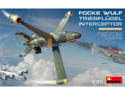 MiniArt Focke-Wulf Triebflügel Interceptor 1:35 (40002)
