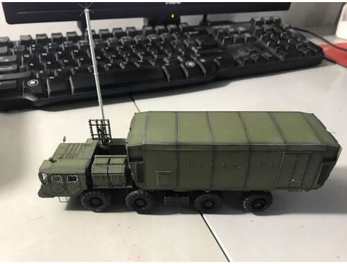 Modelcollect Russian S300 missile system 54K6EBaikal Air Defence Command Post 2010s 1:72 (AS72143)