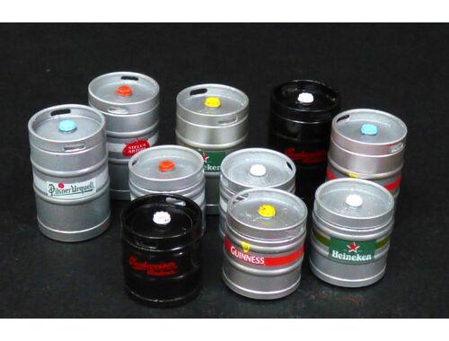 Plus model KEG beer barrels 1:35 (536)