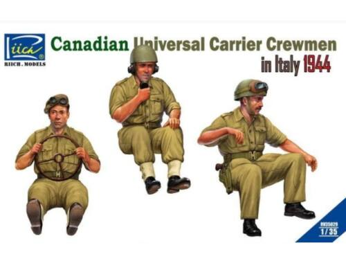 Riich Models Canadian Universal Carrier Crewmen in Italy 1944 1:35 (RV35029)