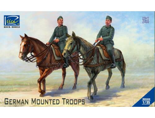 Riich Models German Mounted Troops 1:35 (RV35038)