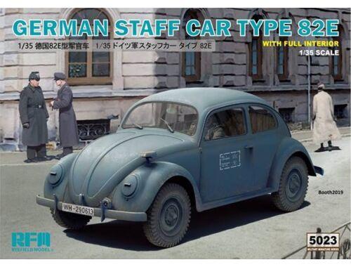 Rye Field Model German Staff Car Type 82E w/Full Interior 1:35 (5023)