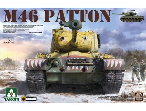 Takom US Medium Tank M-46 PATTON 1:35 (2117)