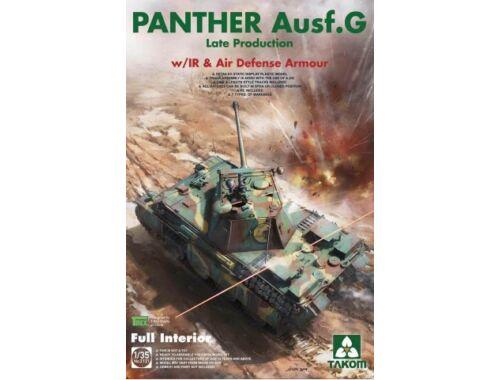 Takom WWII German Tank Panther Ausf.G late w/IR   Air Defense 1:35 (2121)