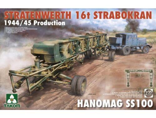 Takom Stratenwerth 16th Strabokran 1944/45 Prod.   Hanomag ss100 1:35 (2124)