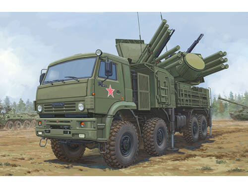 Trumpeter Russian 72V6E4 Combat Vehicle of 96K6 Pantsir-S1 ADMGS 1:35 (01060)