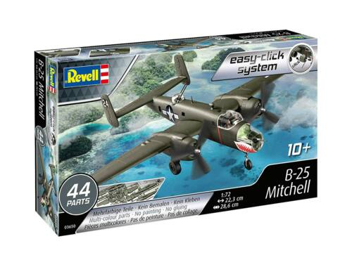 Revell B-25 Mitchell easy-click system 1:72 (3650)