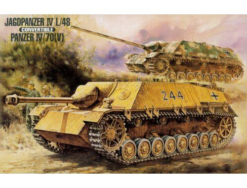 Mr.Hobby Jagdpanzer IV L/48 / Panzer IV 70(V) Sd Kfz 162/1 1:35 G-733