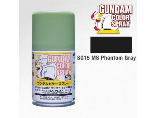 Mr.Hobby Gundam Color Spray (10ml) Phantom Grey SG-15