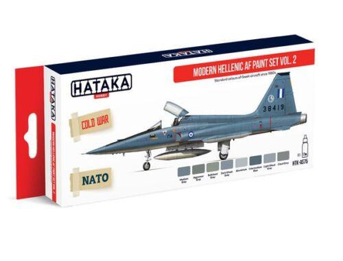 HATAKA Red Line Set (8 pcs) Modern Hellenic AF paint set vol. 2 HTK-AS75