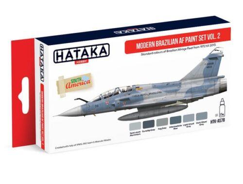 HATAKA Red Line Set (6 pcs) Modern Brazilian AF paint set vol. 2 HTK-AS78
