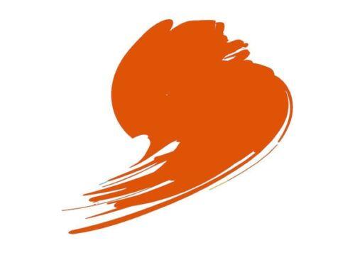 HATAKA Orange Line 17ml Pure Orange (RAL 2004) HTK-C704