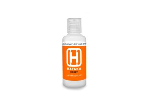 HATAKA Gloss Lacquer Clear Coat 60 ml HTK-XP09-60ml