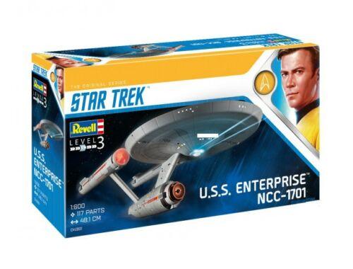 Revell Star Trek U.S.S. Enterprise NCC-1701 (TOS) 1:600 (4991)