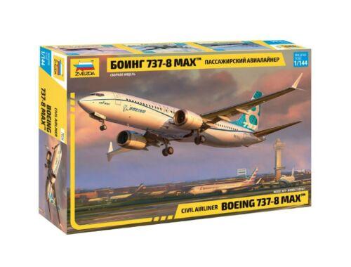 Zvezda Boeing 737-8 MAX 1:144 (7026)