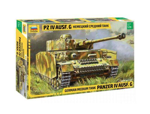 Zvezda Panzer IV Ausf. G. (Sd.Kfz.161) 1:35 (3674)