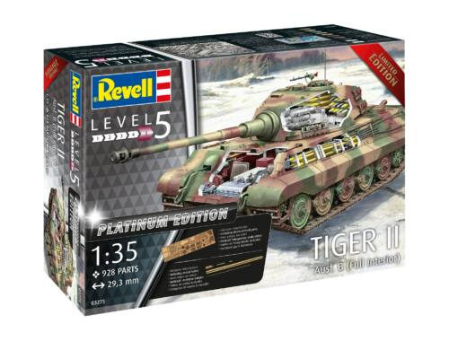 Revell Tiger II Ausf. B full interior Platinum Edition 1:35 (3275)
