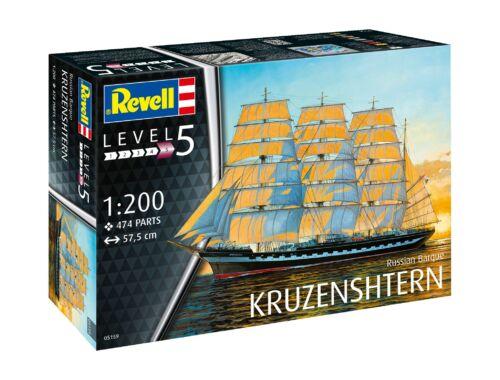 Revell Russian Barque Kruzenshtern 1:200 (5159)