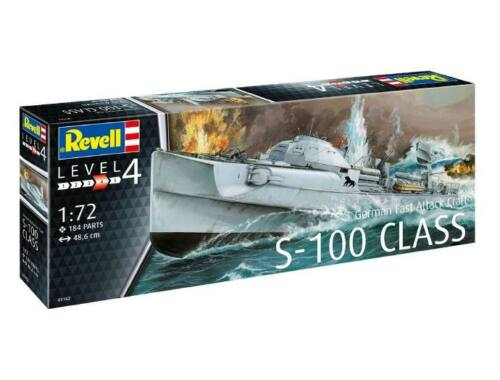 Revell German Fast Attack Craft S-100 1:72 (5162)