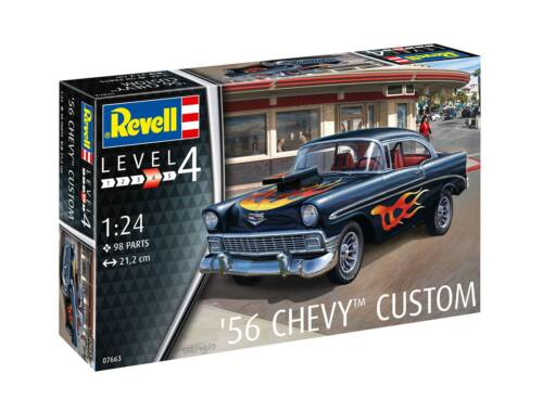 Revell 56 Chevy Customs 1:24 (7663)