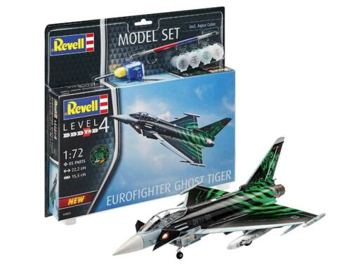 Revell Model Set Eurofighter Ghost Tiger 1:72 (63884)