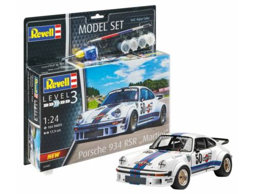Revell Model Set Porsche 934 RSR Martini 1:24 (67685)