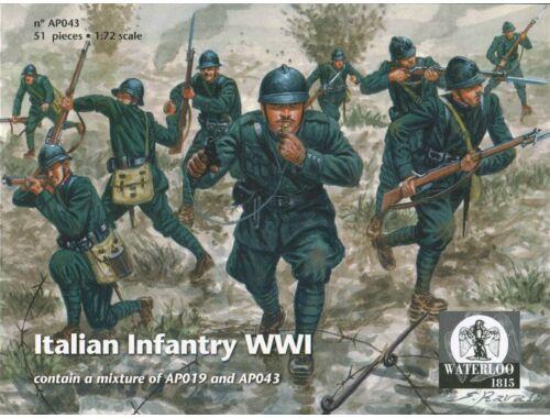 Waterloo olasz gyalogság WWI 1:72 (AP043)