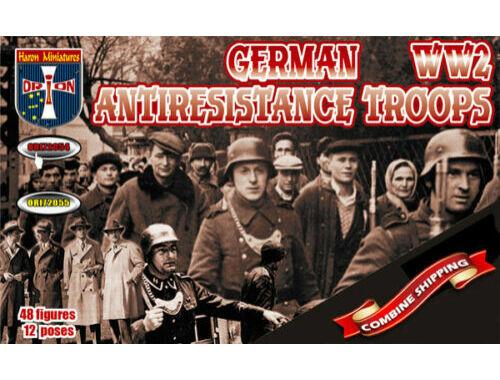 Orion German antiresistance troops. WW2 1:72 (72054)