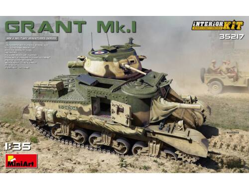 MiniArt Grant Mk.I Interior Kit 1:35 (35217)
