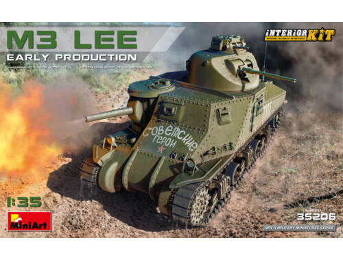 MiniArt M3 Lee Early Prod. Interior Kit 1:35 (35206)