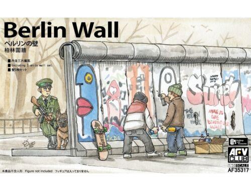AFV-Club Berlin Wall <3 units wall set> 1:35 (AF35317)
