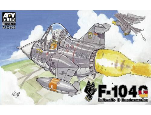 AFV-Club F-104 Q-series (Version West Germany) (AFQS06)