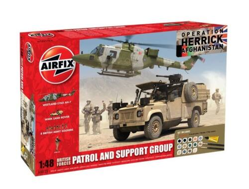 Airfix British Forces - Patrol and Support Gr. 1:48 (A50123)