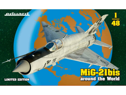 Eduard MiG-21bis, Limited Edition 1:48 (11135)