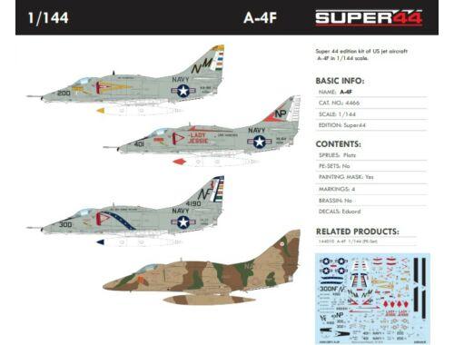 Eduard A-4F Super44 1:144 (4466)