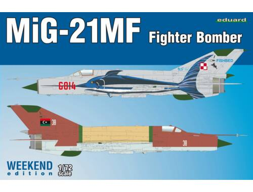 Eduard MiG-21MF Fighter-Bomber Weekend Edition 1:72 (7451)