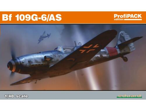 Eduard Bf 109G-6/AS, Profipack 1:48 (82163)