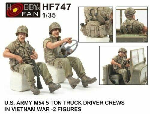 Hobby Fan U.S. ARMY M54 5Ton TRUCK DRIVER CREWS 1:35 (HF747)
