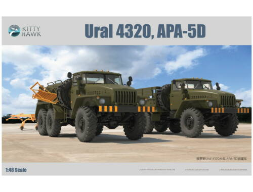 Kitty Hawk Ural 4320 APA-5D 1:48 (80159)