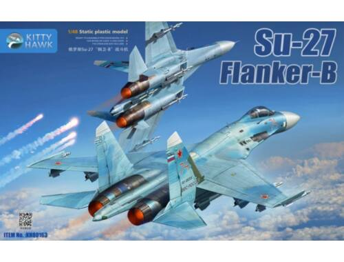 Kitty Hawk Su-27 Flanker B 1:48 (80163)
